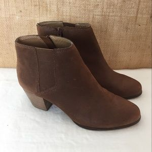 Lucky Brand 7.5 Toffee Tulayne Short Boot Shootie